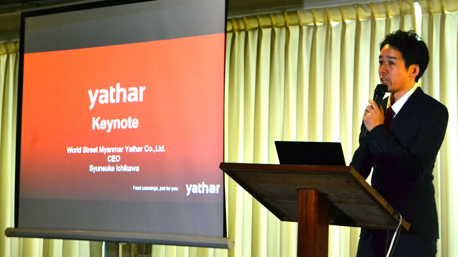 Opening of new yathar office in Mandalay